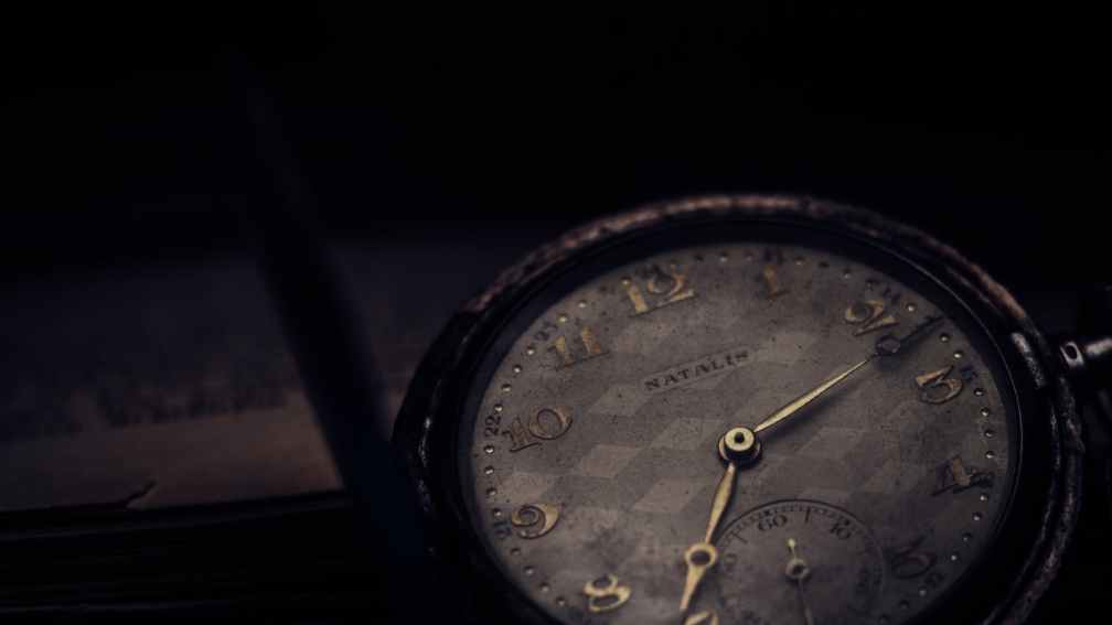 close up photography of vintage watch